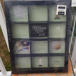 Wooden treasure frame